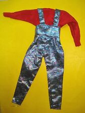 Vtg Jem and the Holograms 80s Doll Clothes TOTSY JEWEL FASHION Variant Jumpsuit