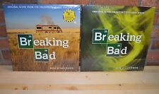 BREAKING BAD Vol 1 & 2 Set, Limited COLORED VINYL 4LP Set Gatefold Color Sleeves