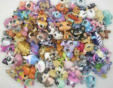 Random 10 pcs Littlest Pet Shop 100% original Loose Figures N22D
