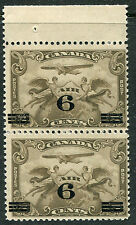 CANADA # C3 FN Never Hinged Pair of Issues w/ Selvage - FLIGHT ALLEGORY - S6152