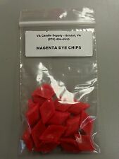 MAGENTA DYE CHIPS (20 PCS PER PACK) CANDLE MAKING SUPPLIES