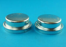 FREE P&P* 2 x 64.5mm Metal Grease Dust Wheel Cap for KNOTT Trailer Hubs Brakes