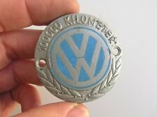 VINTAGE VOLKSWAGEN VW KDF BUG COX KÄFER 100000km 100.000 km CHRISTOPHORUS BADGE