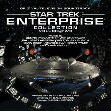 STAR TREK ENTERPRISE Volume 2 LA-LA LAND 4-CD Set McCARTHY CHATTAWAY & More MINT