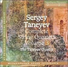 Taneyev String Quartet - Complete String Quartets 3 Nos. 3 & 8 [CD New]
