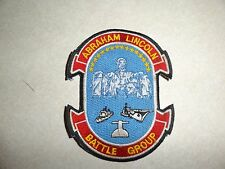 MILITARY PATCH US NAVY ABRAHAM LINCOLN BATTLE GROUP OLDER HARD TO FIND