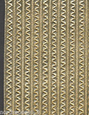 GOLD TINY PENNANT ZIGZAG BORDER STRIP TRIM EDGING DRESDEN GERMANY PAPER METALLIC
