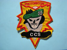 VIETNAM WAR PATCH, US 5th SF Grp MACV-SOG PHOTO RECON CCS