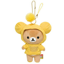 Authentic San-X Hoodies Rilakkuma Plush Which Color Do You LIke Charm - Yellow