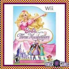 Barbie and the Three Musketeers (Nintendo Wii) Brand New