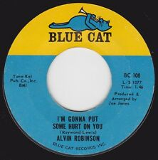 """ALVIN (AL) ROBINSON -""""I'M GONNA PUT SOME HURT ON YOU"""" / HOW CAN I GET.."""" (VG++)"""