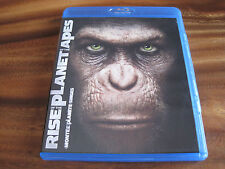 RISE OF THE PLANET OF THE APES (BLU-RAY+DVD) DIGITAL COPY IS EXPIRED - VERY GOOD