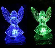 LED Noche Lámpara Cambia De Color Hogar Decoración Fiesta ángel Niño Juguete