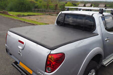 Mitsubishi L200 Short Bed Soft Folding Tonneau Cover - Load Bed Cover 2006-2009