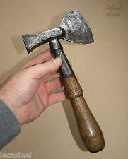 beau petit marteau de forestier 19ème - fer forgé - outils anciens - forêt