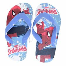 Boys Marvel Spider-Man Flip Flops Size 11-11.5 Kids New With Tags