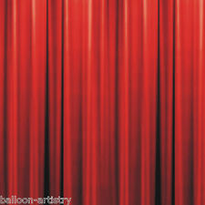 Hollywood Awards Night Party Scene Setter Wall Decoration Red Curtains - Bottom