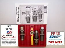 LEE 90799 * CARBIDE 3 DIE PISTOL RELOADING SET * 40 SMITH & WESSON / 10MM AUTO