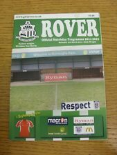 03/03/2012 Great Wakering Rovers v Haybridge Swifts  (team changes). Condition: