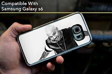 Chris Brown bw mode sourire hard case fits samsung Galaxy S6