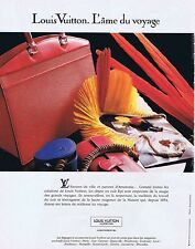 PUBLICITE ADVERTISING 114 1993 LOUIS VUITTON maroquinerie sacs