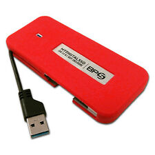 120GB MyDigitalSSD BP5 USB 3.0 SSD UASP Portable SSD with Integrated USB Cable