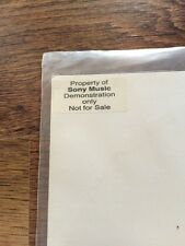 "❤️RARE UK SONY DEMO~STICKERED 12""❤️Cowboys And Angels-George Michael (Wham!)"