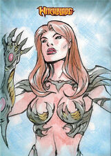 Witchblade 2014 Sketch Card by Jezreel Rojales
