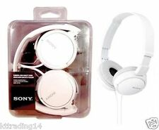 Sony MDR-ZX110 Stereo / Monitor Headphones (White) -  MINT
