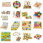 16 Styles Wooden Drawing Jigsaw Puzzle Collection Toy Gift For Baby Kids Child