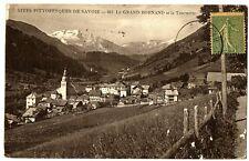 CPA 74 Haute-Savoie Le Grand Bornand et la Tournette