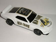 Hot Wheels OLD CROW Bourbon Whiskey 1969 Ford MUSTANG BOSS 302 custom car