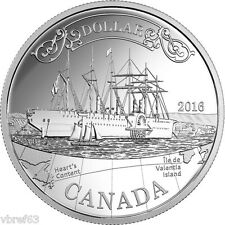 2016 Canada Transatlantic Cable silver dollar - 150th anniversary - coin only