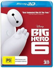 Big Hero 6 3D : NEW Blu-Ray 3D
