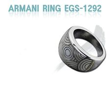 EMPORIO ARMANI WOMEN'S RING COLLECTION EGS1292 Sz. 9