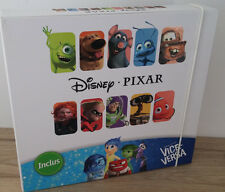 COFFRET DE JEU COMPLET PIXAR DISNEY collection AUCHAN 16 FIGURINES NEUF /104