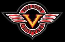 V Free Choppers Rider iron-on Aufnäher patch