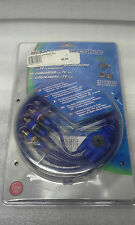 Monster Cable Camcorder To TV/VCR RCA Audio/Video 1.82M 6ft J2 CAMAV M-2 EU