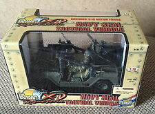 21st CENTURY TOYS 1:18 ULTIMATE Soldier NAVY SEAL TACTICAL VEICOLO JEEP ~ EXC