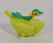 "RARE 2011 Snivy Wind-Up Leaf Boat 3.5"" Bath Toy Action Figure McDonald's Asia"