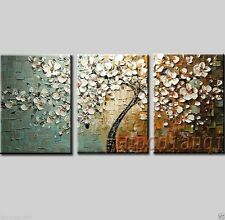 CHOP88 huge flower tree abstract 100% hand-painted oil painting art canvas