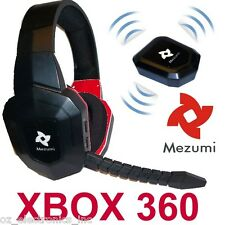 Wireless Gaming Stereo Headset for XBox 360 Game Sound Chat NEW Fast Shipping