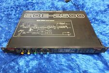 Roland SDE-2500  Dimensional Space Delay Rack Effect Pedal guitar echo 530922 se