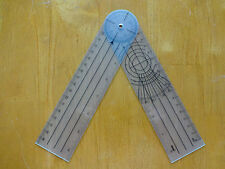 "Brand New 8""Inches 360 Degree Spinal Goniometer Ruler US Seller"