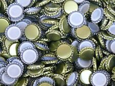 1000 Gold Bottle Caps, Homebrew, Oxygen Absorbing, Beer, Crown Cap, Homebrewing