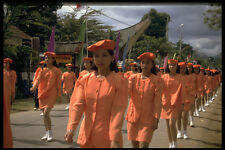 493023 Marching Girls Independence Day Parade Indonesia A4 Photo Print