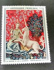 FRANCE UNICORN ISSUE, ONE OF THE WORLD'S MOST COLORFUL STAMPS, VERY FINE MINT NH