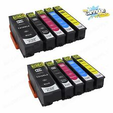 10PK T410 XL High Yield ink For Epson Expression XP-530 XP-630 XP-640 XP-830