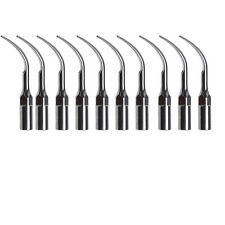 10PC punte dentali per scaler Tip ablatore EMS WOODPECKER Mectron G1 Style