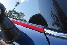 Mini cooper s jcw, beltline ruban brillant rouge R55/56/57 de-chrome